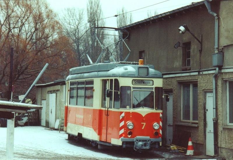 Schienenschleifwagen 7