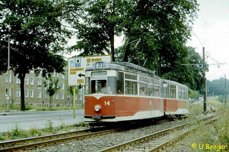 Ehemals Schöneicher Gotha-Triebwagen
