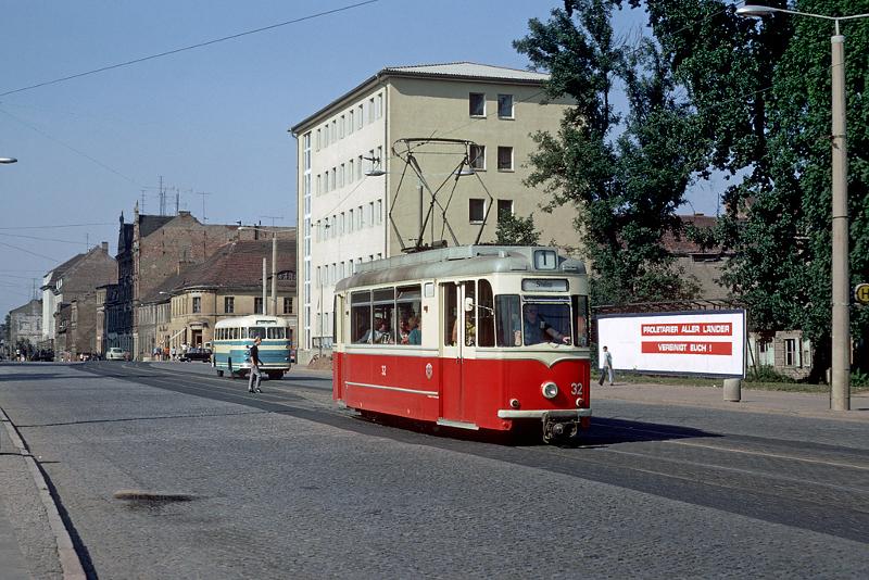 T57-Soloeinsatz 1973 am Topfmarkt