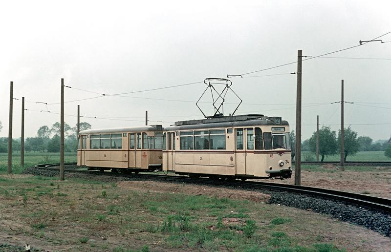 Schleife Lebuser Vorstadt Ende der 60er Jahre