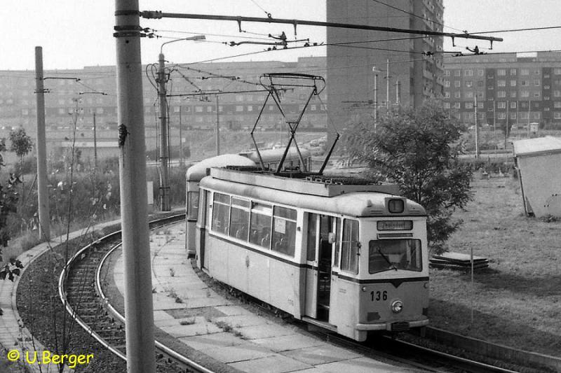 In den 1980er Jahren in Gera