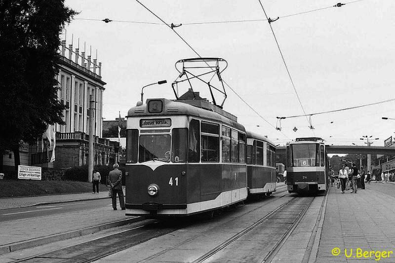 Gotha-Tw 41 am Platz der Republik
