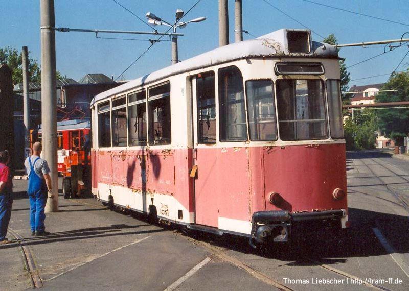 Spätheimkehrer Reko-Beiwagen 124