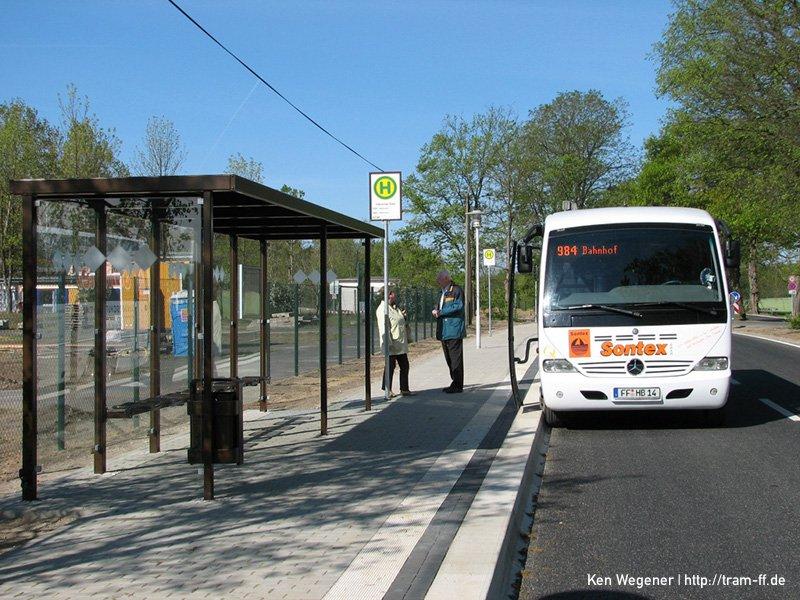 Neue Endstation am Helene-See