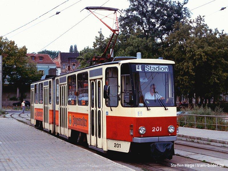 KT4D 201 im Juli 1992 am Stadion