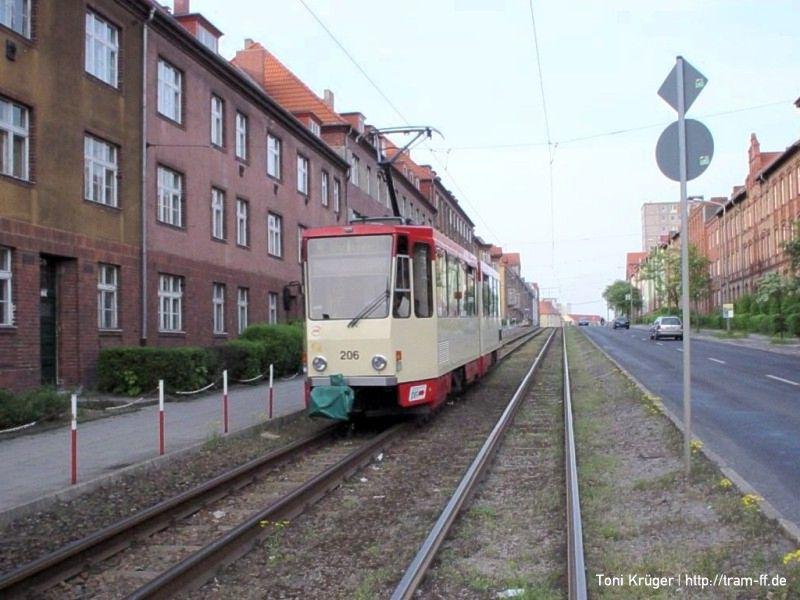 KT4DM 206 an der Leipziger Straße
