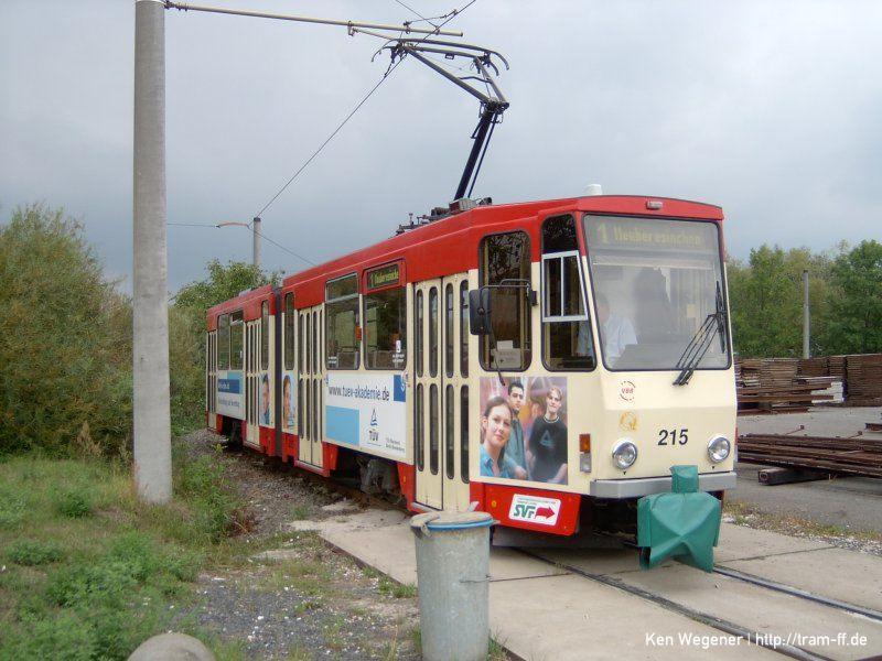 KT4DM-Tw 215 in der Lebuser Vorstadt