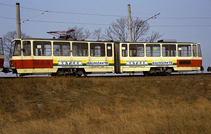KT4D 221 im Jahr 1992