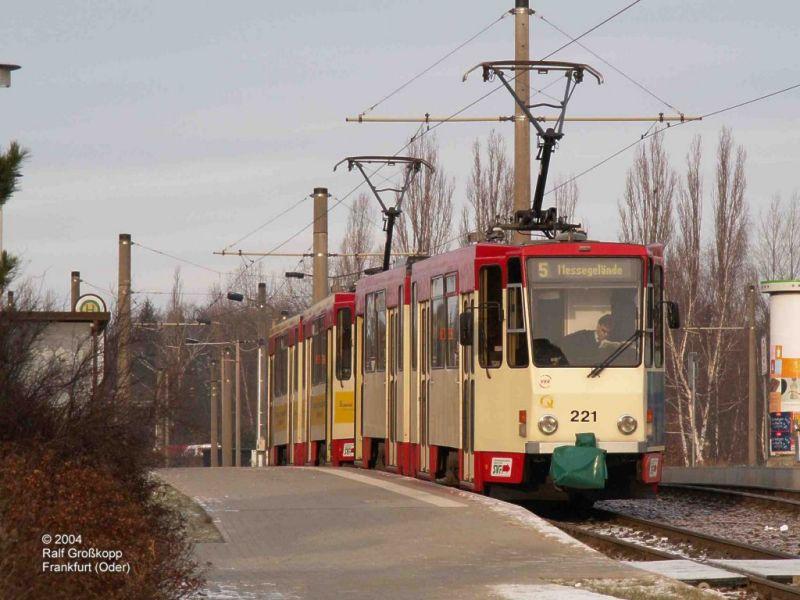 Tatra-Doppel auf Linie 5