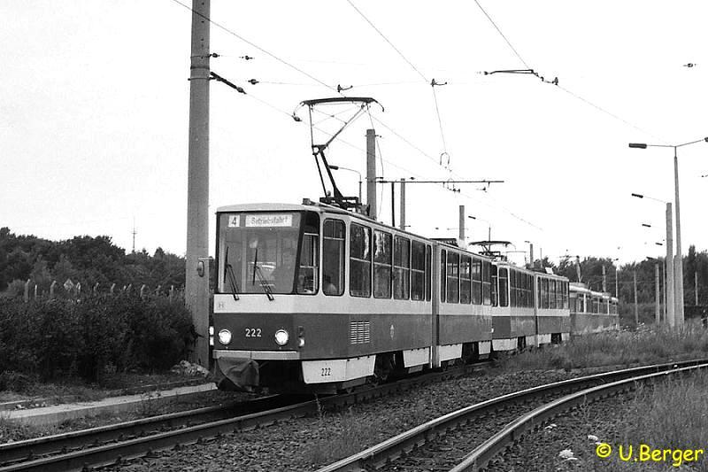 KT4D 222 + 221 im August 1988