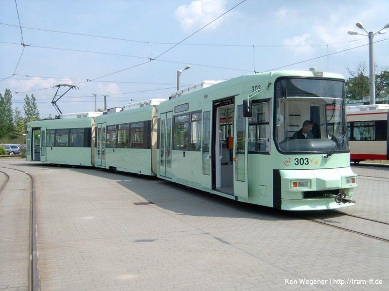 Erster grüner Niederflurwagen