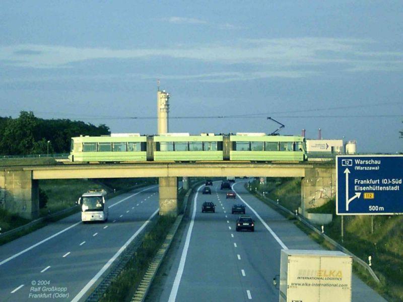An der Autobahn