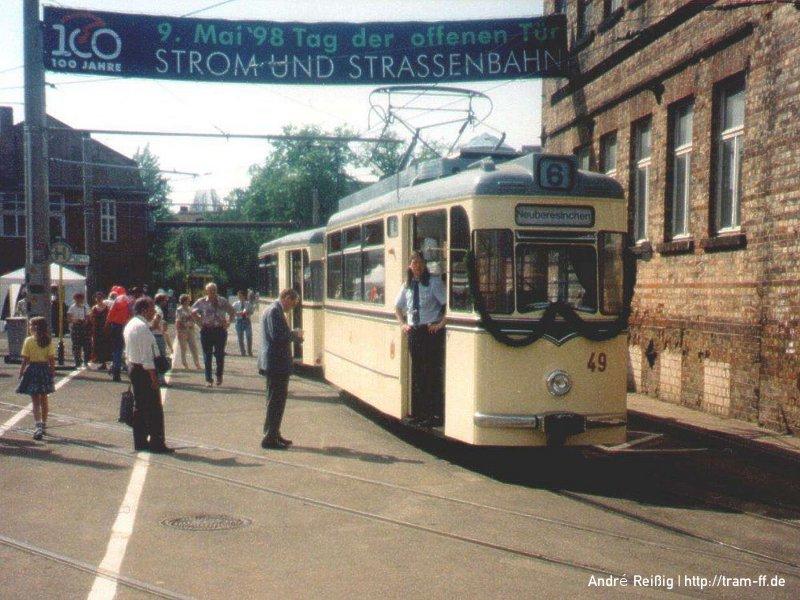 100 Jahre Strom und Straßenbahn