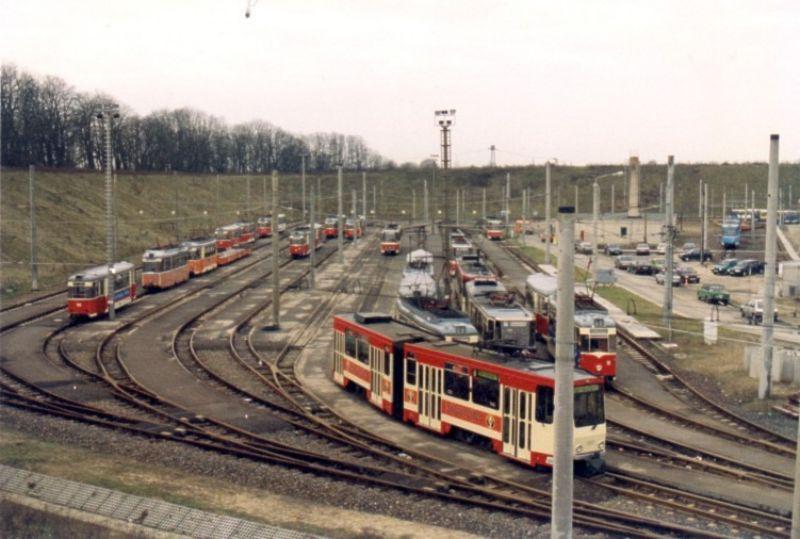 Abstellanlage Neuberesinchen im Jahr 1993