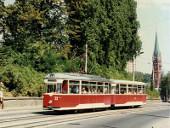 Linie 1 am Bahnhofsberg