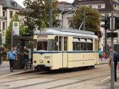 Historischer Triebwagen Chmenitz 802