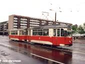 Der heutige Brunnenplatz im Jahr 1990