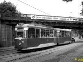 Wagen 52 auf der August-Bebel-Straße