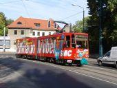 Tatra-Solowagen auf Linie 2