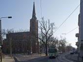 Lindenstraße mit Gertraudkirche