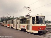 Tatra-Doppeltraktion in Markendorf