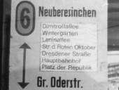 Linienlaufweg von 1987