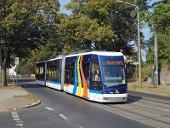 Jenaer Tramino am Kießlingplatz