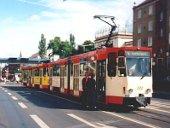 Tatra-Doppeltraktion am Brandenburgtag 2000