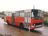 Ikarus 260 im Frühjahr 1990