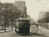 Frankfurter Straßenbahn um 1900