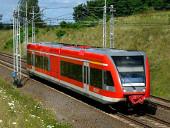 Dieseltriebwagen BR 646 bei Kunowice