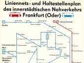 Netzplan vom 5. Juli 1982