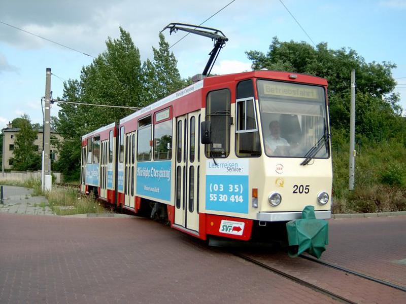 Triebwagen 205