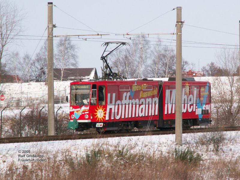 KT4DM 207 zwischen Gartenstadt und Friedenshöhe