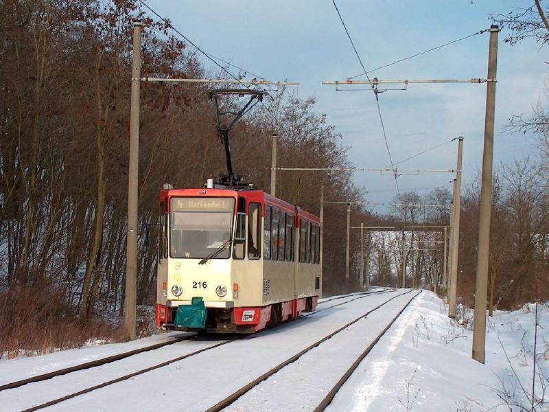Richtung Markendorf