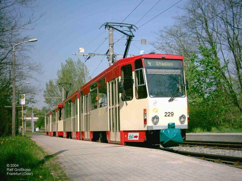 Doppeltraktion auf Linie 4