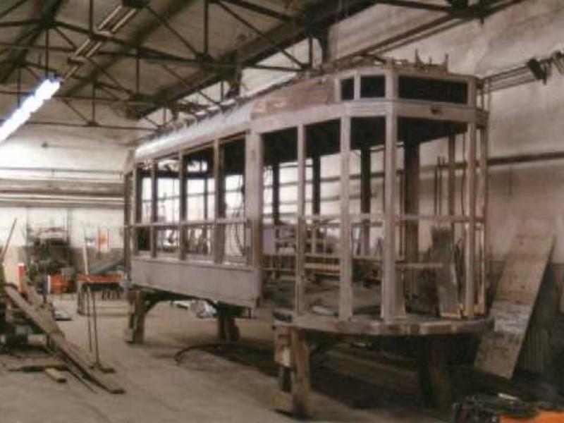 Wiederaufbau Anfang der 1990er Jahre