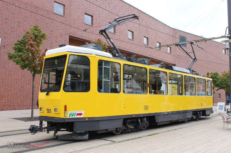 Arbeitswagen 501 am Europaplatz