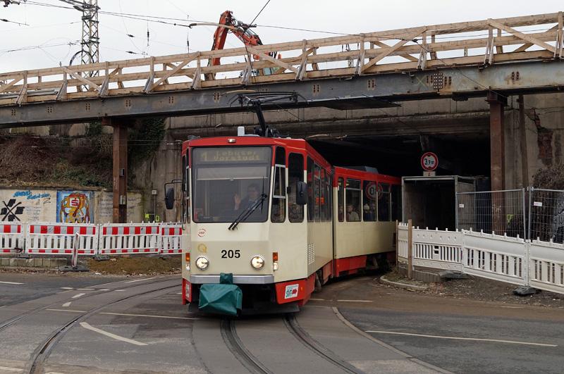 Ausfahrt Bahnhofstunnel