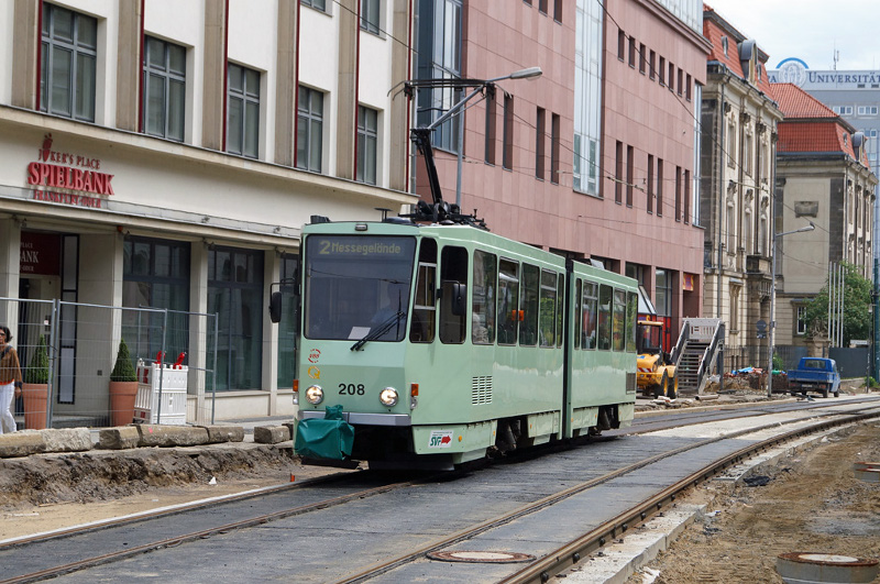 Gleisbau Logenstraße