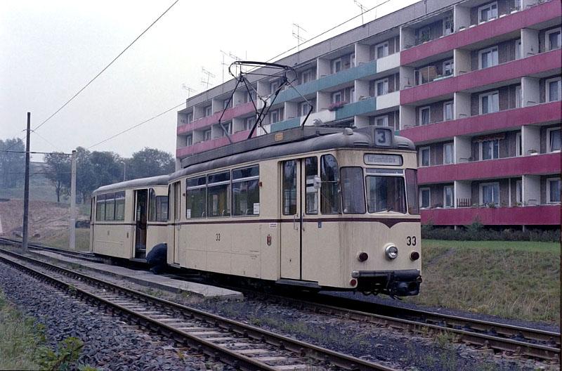 Kuppelendstelle am Südring 1978