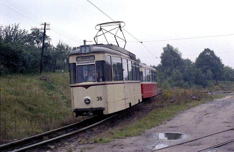 Reko-Wagen 36 1978 am Westkreuz