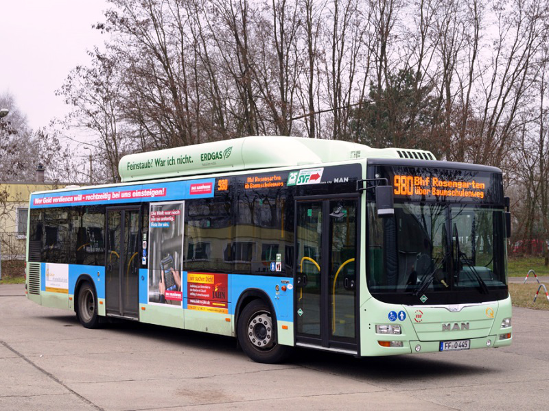 MAN Lion's City CNG 445