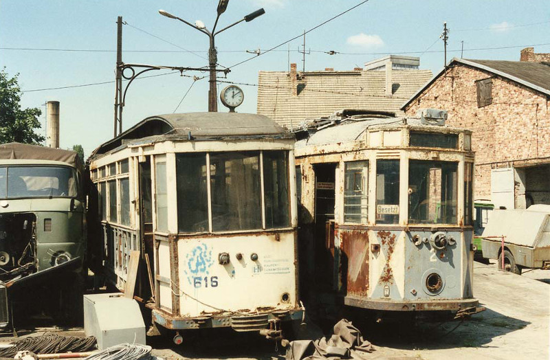 Ehemaliger Chemnitzer Bw 616 im August 1990