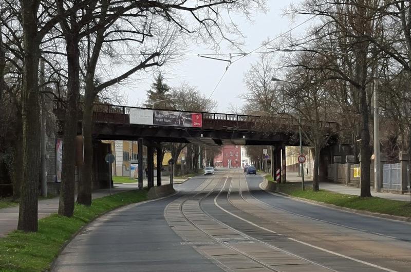 Eisenbahnbrücke am Kießlingplatz