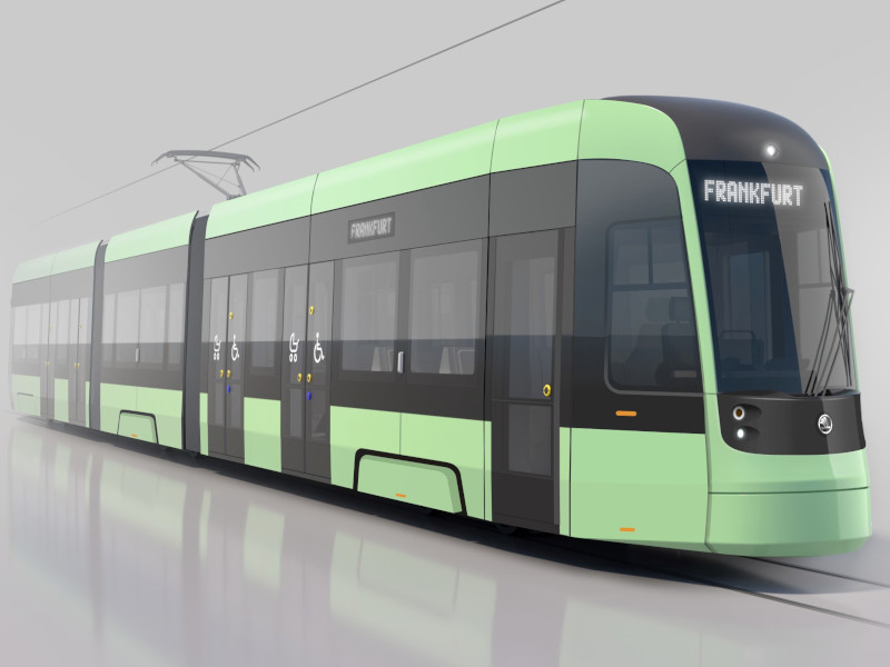 Frankfurts neue Straßenbahn