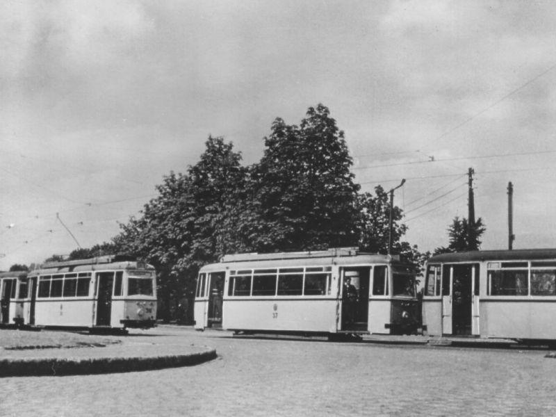 LOWA-Wagen 1957 am Westkreuz