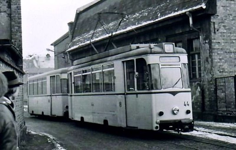1978 in der Bachgasse: Wagen 44