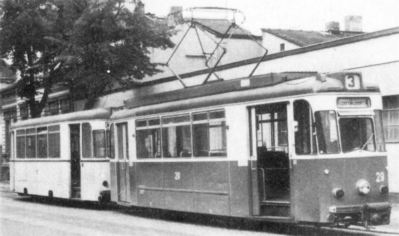 Wagen 29 im Jahr 1979 in der Herbert-Jensch-Straße