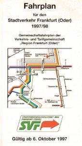 Fahrplanheft 1997